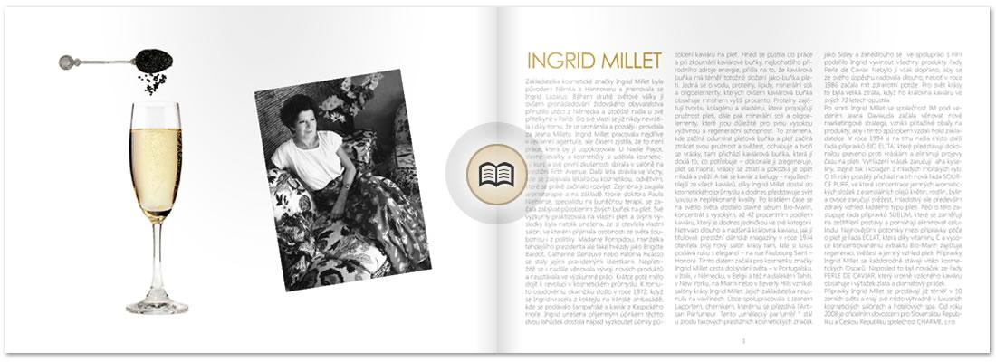 Katalog produktů Ingrid Millet